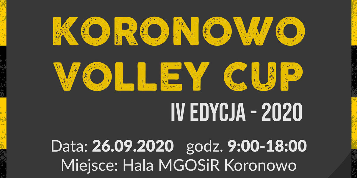 Koronowo Volley Cup 2020